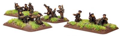 Flames of War: British Commando Weapons Platoon