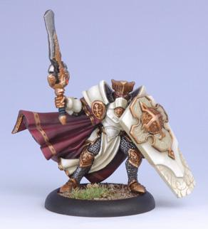 Warmachine (The Protectorate Of Menoth) Paladin Of The Order Of The Wall (Alternate Version)