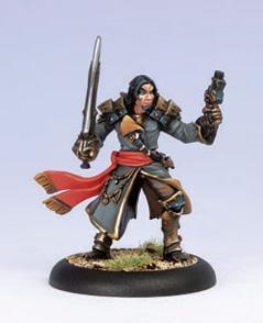 Warmachine: (Mercenaries) Pirate Captain Phinneus Shae (1)