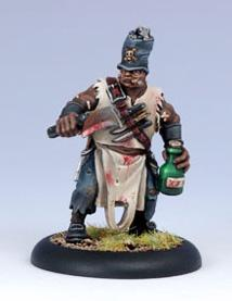 Warmachine: (Mercenaries) Pirate Doc Killingsworth