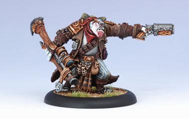 (Trollbloods) Warlock Grim Angus