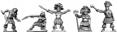 28mm Historical: Ngoni Chiefs and Witchdoctors