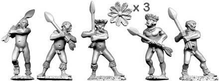 28mm Historical: Tupi Warriors