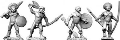 28mm Historical: Amazon Indian Chiefs