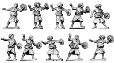 28mm Historical: Somali Spearmen