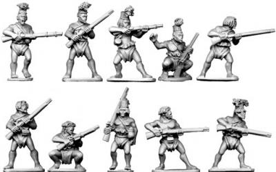 28mm Historical: Azande Musketmen
