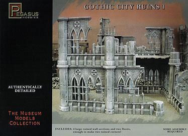 Terrain: Gothic City Ruins 1