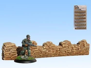 Terrain: Sandbags (Straights)