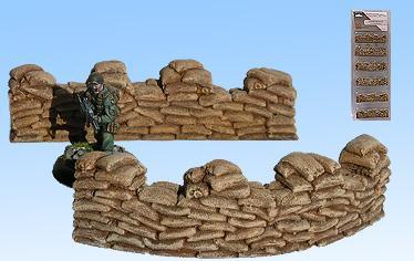 Terrain: Sandbags (Corners)