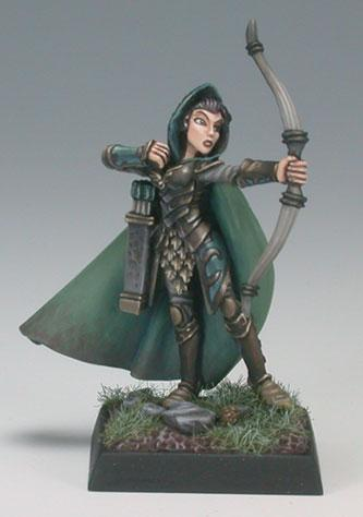 Dark Heaven Legends: Alistrilee Female Elf Archer