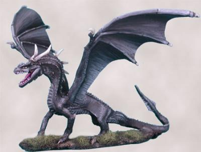Visions In Fantasy: Black Dragon
