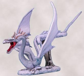 Visions In Fantasy: White Dragon