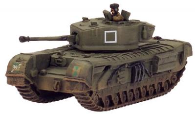 Flames of War: Churchill VII (with Crocodile option)