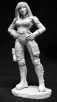Special Edition Figures: (CAV Strike Operations) Dana Murphy, Officer (72mm)
