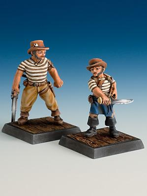 Freebooter Miniatures: Pirate Crew