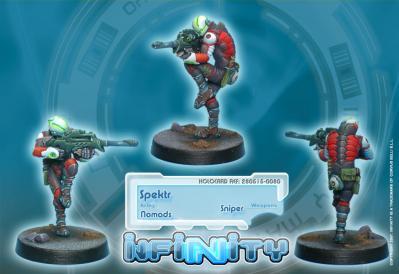 Infinity (#080) Nomads Spektr (Sniper)