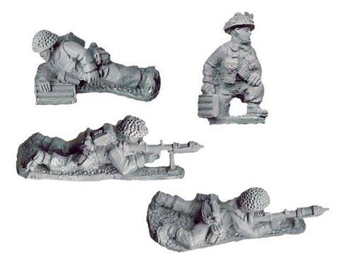 Crusader Miniatures: Late British PIAT Teams (4)