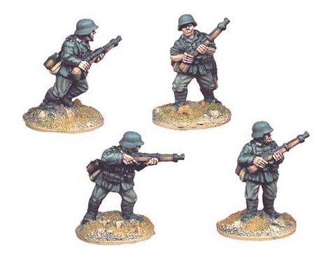 Crusader Miniatures: German Riflemen II (4)