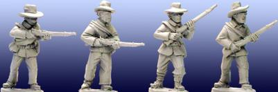 Artizan Designs Wild West: Plains Infantry II (4)