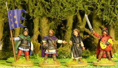 Artizan Designs Carolingians: Carolingian General.(4)