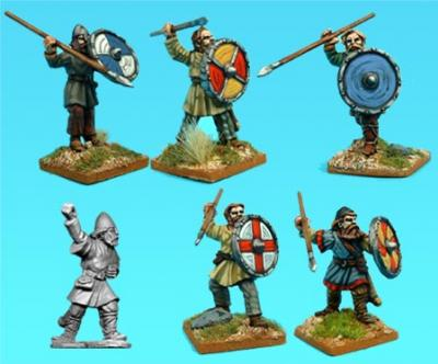 Artizan Designs Vikings: Viking Bondi Spearmen (6)