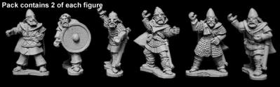 Artizan Designs Vikings: Viking Hirdmen with Spears (6)