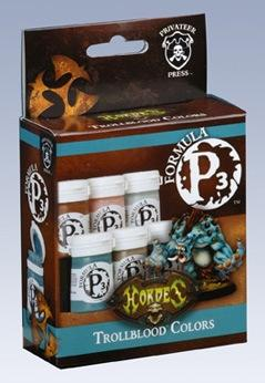 Formula P3 Paints: Trollblood Colors Box Set