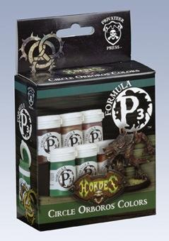 Formula P3 Paints: Circle Orboros Colors Box Set