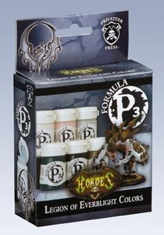 Formula P3 Paints: Legion Of Everblight Colors Box Set