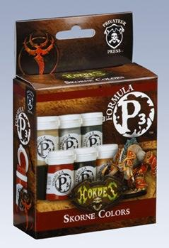 Formula P3 Paints: Skorne Colors Box Set