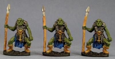 Reaper Legendary Encounters: Orc Spearmen (3)