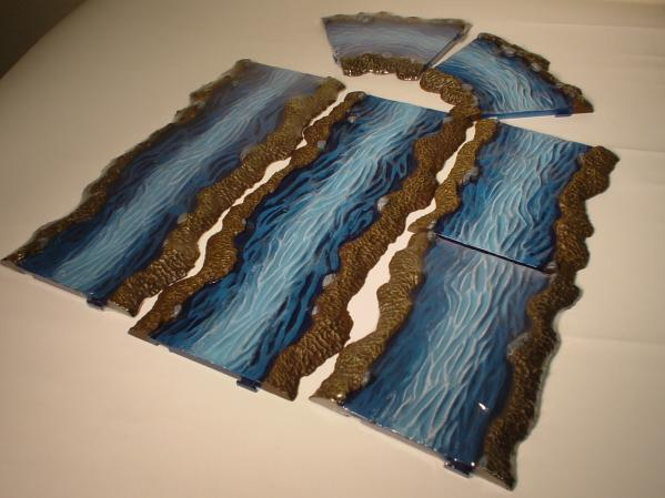 Terrain: River Set (6 pieces)