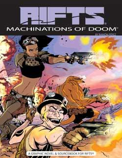 Rifts Lone Star Machinations of Doom (Graphic Novel)