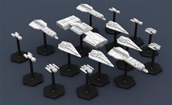 Traveller Miniatures: Imperial Fleet Box 1
