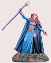 Aval The Power, Female Elven Mage w/Staff