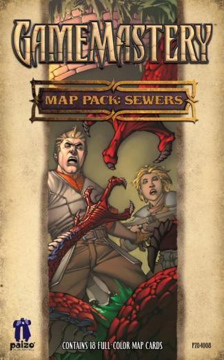GameMastery Campaign Map Packs: Sewers