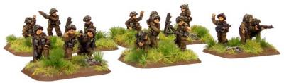 Flames of War: Company HQ, with 3'' Mortar Option