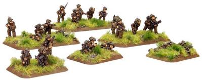 Flames of War: Mortar Platoon, with Pioneer Option