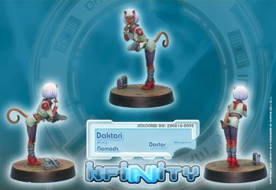 Infinity (#095) Nomads Daktari (Doctor)