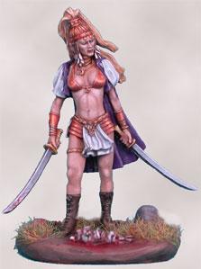 Parkinson Masterworks: Jinsu Babe, Female Dual Wield Warrior