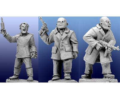 28mm Thrilling Tales (Pulp): Dr Klomps Laboratory of Terror