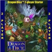 Dragon Dice Two Player Starter: Undead vs. Feral (Dice Battle Game)