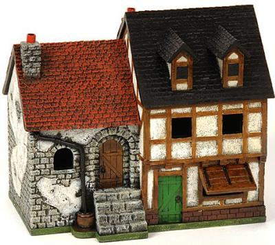 25mm European Buildings: New Double Townhouse