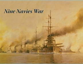 Nine Navies War: Alternative History Battleship Game