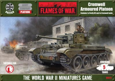 Flames Of War (WWII): (British) Cromwell Armoured Platoon