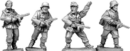 Artizan Designs WWII 28mm: German Infantry with PPsH41 (4)