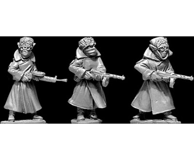 28mm Thrilling Tales (Pulp): Koschei's Cossack Troopers (3)