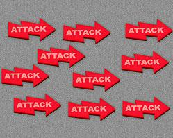 Attack Tokens - Red (Set of 10)