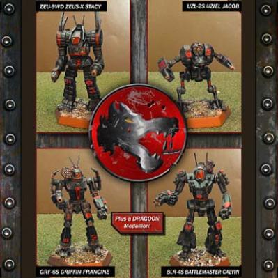 Wolf & Blake Mechpack: Wolf's Dragoons