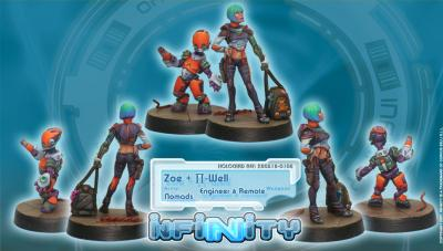 Infinity (#108) Nomads Zoe & Pi-Well (Engineer & Remote) - Special Character
